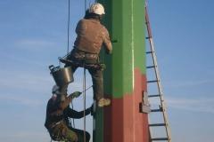 Malowanie słupów - Podkarpacie